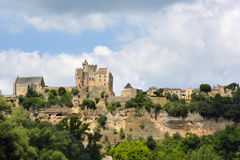 Chateau de Beynac Royalty Free Stock Photography
