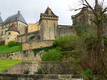 Chateau de Biron, Dordogne ( France ) Royalty Free Stock Photos