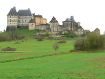 Chateau de Biron ( France Stock Photography