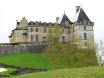 Chateau de Biron (France ) Royalty Free Stock Image