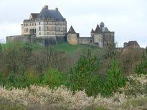 Chateau de Biron (France ) Stock Photo