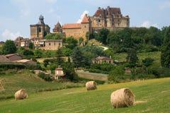 Chateau de Biron, France Royalty Free Stock Photo