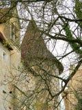 Chateau DE Biron (Frankrijk) Royalty-vrije Stock Foto's