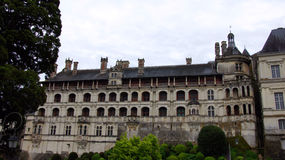 Chateau de Blois i den Loir dalen royaltyfri bild