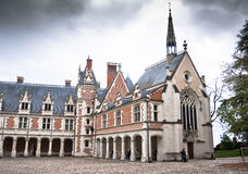 Chateau de Blois. Loire Valley, France Royalty Free Stock Images