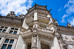 Chateau de Blois. Part of famous spiral staircase Royalty Free Stock Image