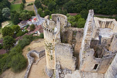 Chateau de Bonaguil Royalty Free Stock Images