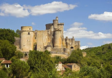 Chateau de Bonaguil Royalty Free Stock Photo
