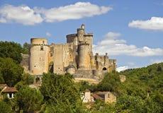 Chateau DE Bonaguil royalty-vrije stock foto