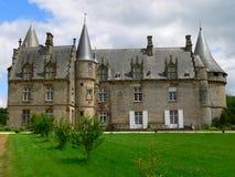 Chateau de Bonne Fontaine, Antrain ( France ) Stock Photo