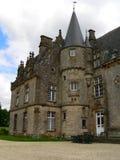 Chateau de Bonne Fontaine, Antrain ( France ) Stock Images