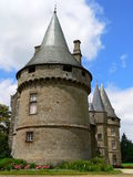 Chateau de Bonne Fontaine, Antrain ( France ) Stock Photo