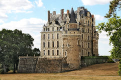 Chateau de Brissac Stock Photo
