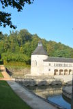 Chateau De Bussy-Rabutin/Chateau De Bussy-Le-Grand Images libres de droits