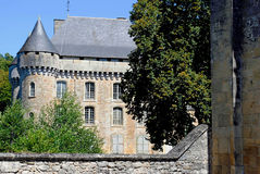 Chateau de Campagne. In France Stock Image