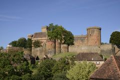 Chateau de Castelnau Fotos de archivo libres de regalías