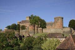 Chateau de Castelnau 免版税库存照片