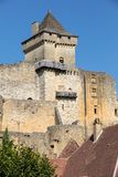 Chateau de Castelnaud, μεσαιωνικό φρούριο σε castelnaud-Λα-Chapelle, Dordogne, Aquitaine στοκ εικόνες