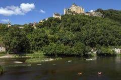 Chateau de Castelnaud - Dordogne - Γαλλία στοκ εικόνες