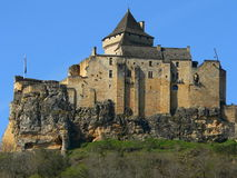 Chateau de Castelnaud-la-Chapele ( France ) Royalty Free Stock Images