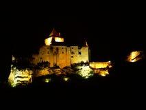 Chateau de Castelnaud-la-Chapele ( France ) Stock Images