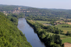 Chateau de Castelnaud la chapelle, Dordogne, France Royalty Free Stock Photography