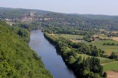 Chateau de Castelnaud la chapelle, Dordogne, France Royalty Free Stock Photography