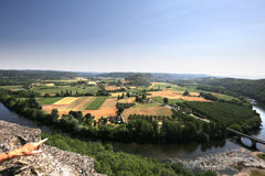 Chateau de Castelnaud la chapelle, Dordogne, France Stock Photo