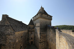 Chateau de Castelnaud la chapelle, Dordogne, France Royalty Free Stock Photos
