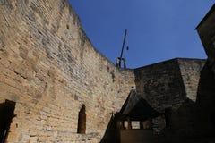 Chateau de Castelnaud la chapelle, Dordogne, France Stock Photo