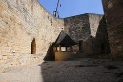Chateau de Castelnaud la chapelle, Dordogne, France Stock Photos