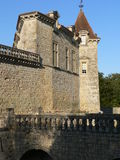Chateau de Cazeneuve, Prechac ( France ) Royalty Free Stock Photography