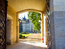 Chateau de Challain Royalty Free Stock Image