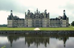 chateau de Chambord,法国 库存照片