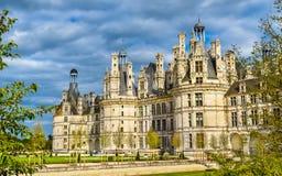Chateau de Chambord, το μεγαλύτερο κάστρο στην κοιλάδα της Loire - Γαλλία στοκ φωτογραφίες με δικαίωμα ελεύθερης χρήσης