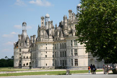 Chateau de Chambord Stock Images