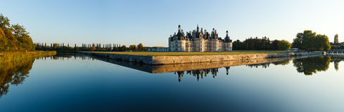 Chateau de Chambord fotografie stock