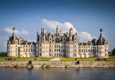 Chateau de Chambord 图库摄影