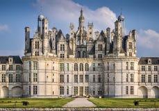 Chateau de Chambord Royaltyfria Foton