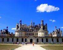 Chateau de Chambord Imágenes de archivo libres de regalías