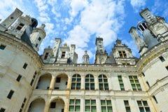 Chateau de Chambord immagini stock libere da diritti