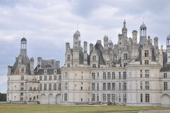 Chateau De Chambord. The beautiful Chambord castle is one of the most famous castles in the loire valley of france. A sight which is absolutely astonishing Royalty Free Stock Image
