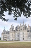 Chateau De Chambord. The beautiful Chambord castle is one of the most famous castles in the loire valley of france. A sight which is absolutely astonishing Stock Photos