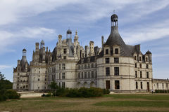 Chateau de Chambord, Chambord, Loire Valley, France - shot August, 2015 Stock Photo