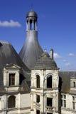 Chateau DE chambord, de Loire vallei, Frankrijk Stock Fotografie