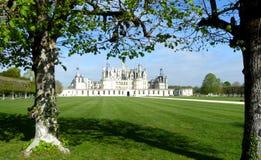 Chateau de Chambord es el castillo francés más grande del valle del Loira, Francia imagenes de archivo