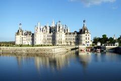 Chateau de Chambord es el castillo francés más grande del valle del Loira, Francia fotografía de archivo libre de regalías