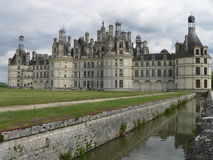 Chateau de Chambord ( France ) Stock Photos