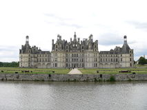 Chateau de Chambord ( France ) Stock Image