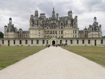 Chateau de Chambord ( France ) Royalty Free Stock Images